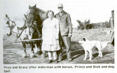 "Alderman, William ""Price"" (1896-1984) & Grace May Utter (1903-1996)"